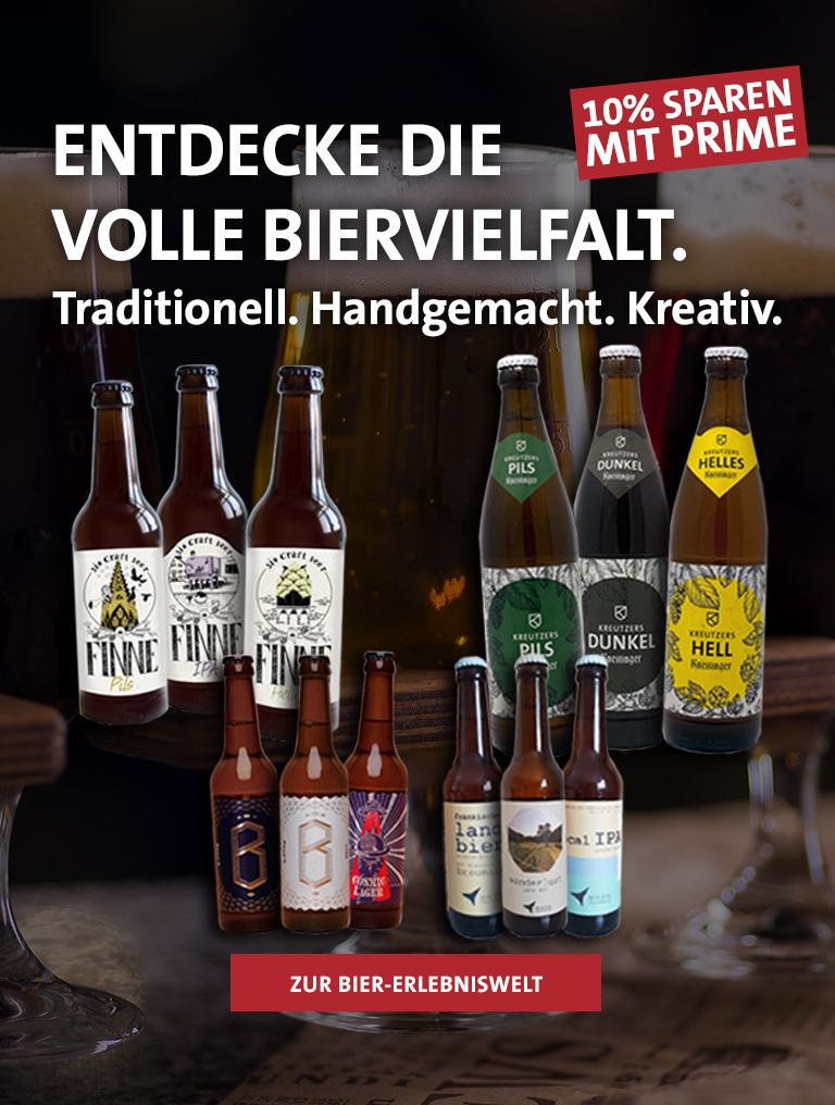 Teste unsere Biere!