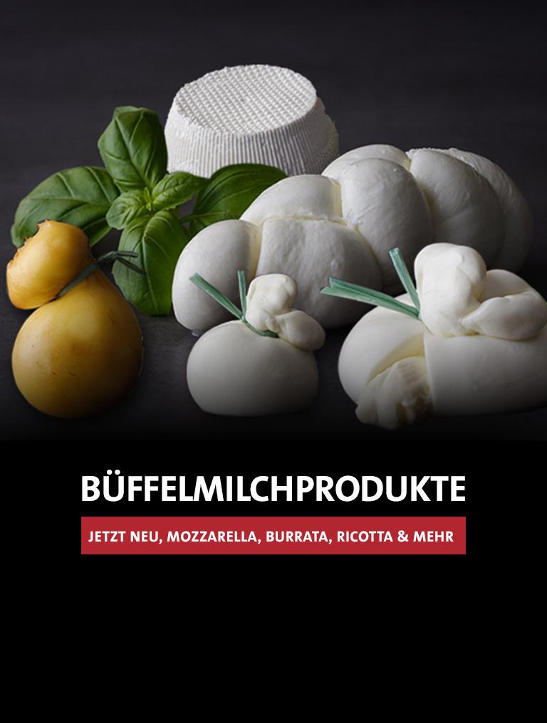 Büffelmilchprodukte jetzt neu!
