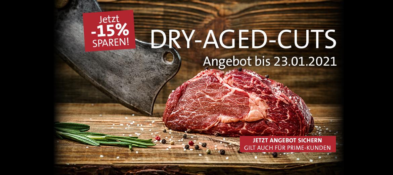 15% auf Dry Aged Cuts!