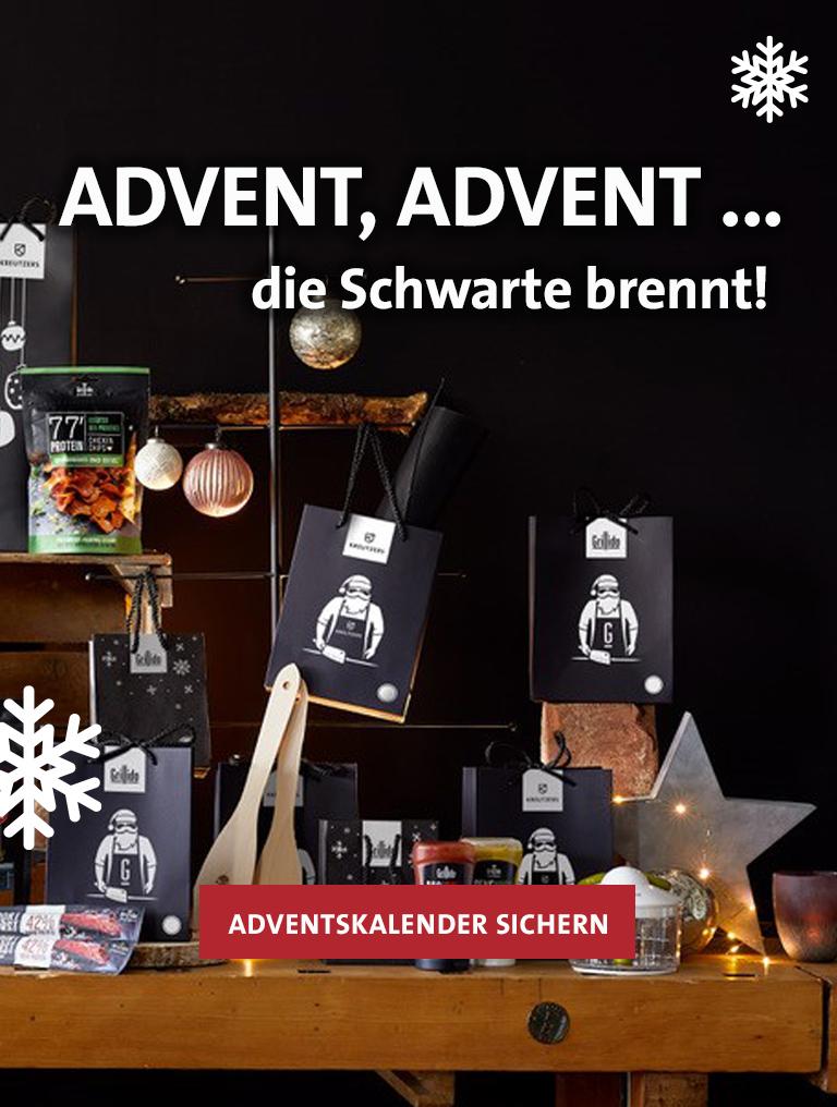 Advent Advent die Schwarte brennt!