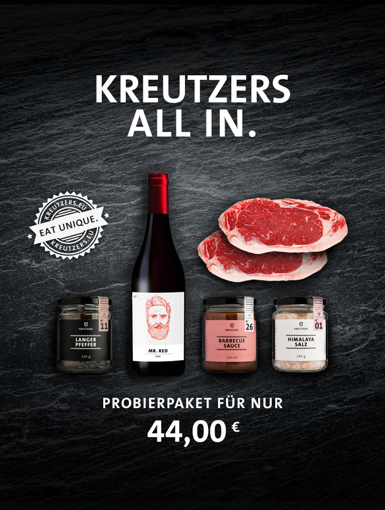 Kreutzers All In Probierpaket