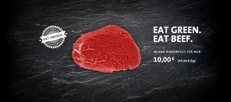 Special Preis Angebot Irland Rinderfilet