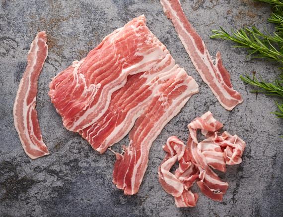 Bacon geschnitten - 500g