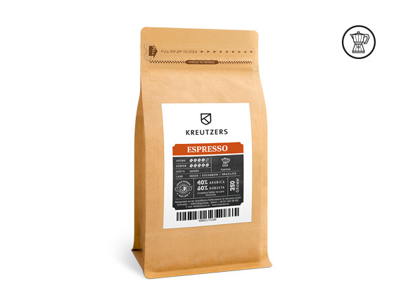 KREUTZERS Espresso Kaffee 1000g