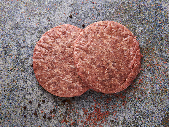 US Burger Patties 2x 200g [VG]