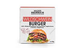 WILDSCHWEIN BURGER VG - 2x125g