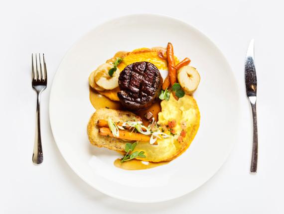 Aphrodisierendes Valentinstags-Steak